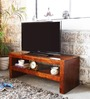 Bonduel Entertainment Unit in Provincial Teak Finish by Woodsworth