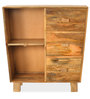 Case Chest of Three Drawers in Natural Finish by @ Home