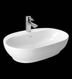 Cera Caf White Ceramic Table Top Wash Basin