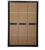 Cedar Three Door Wardrobe in Teak & Walnut Colour by Nilkamal