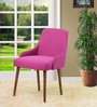 Celano Chair (Set of 2) in Pink Color by CasaCraft