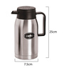 Cello Livia Silver Stainless Steel 750 ML Flask
