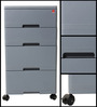 Storewell Chest of Drawers in Grey colour  by Cello
