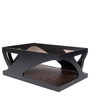 Center Table in Black Color by Kurl-On