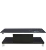 Center Table with Duco Finish in Black on White Colour by Parin