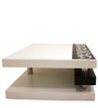 Centre Table in White Colour by Lakkarhara