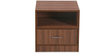 Champion Queen Bedroom Set in Walnut Brown by @Home