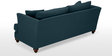 Chasin Three Seater Sofa in Dark Blue Colour by Furny