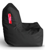 Chair Bean Bag (Cover Only) L size in Black Colour by Style Homez