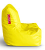 Chair Bean Bag (Cover Only) L size in Yellow Colour by Style Homez
