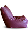 Chair Bean Bag (Cover Only) XXXL size in Maroon Colour  by Style Homez