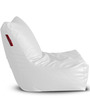 Chair Bean Bag (Cover Only) XXXL size in White Colour  by Style Homez