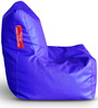 Chair Bean Bag L size in Blue Colour with Beans by Style Homez