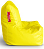 Chair Bean Bag L size in Yellow Colour with Beans by Style Homez