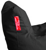 Chair Bean Bag XL size in Black Colour with Beans by Style Homez