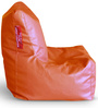 Chair Bean Bag XL size in Elegant White Colour with Beans by Style Homez