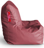 Chair Bean Bag XL size in Maroon Colour with Beans by Style Homez