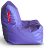 Chair Bean Bag XL size in Purple Colour with Beans by Style Homez