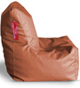 Chair Bean Bag XL size in Tan Colour with Beans by Style Homez