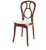 Chair Series in Maroon & Cream Colour by Nilkamal