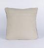 Chandrika Black Cotton 20 x 20 Inch Cushion Cover