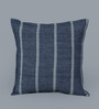 Chandrika Blue Cotton 20 x 20 Inch Cushion Cover