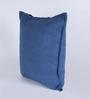 Chandrika Blue Silk 20 x 20 Inch Cushion Cover