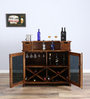 Calliope Bar Cabinet in Dual Tone Finish by Woodsworth