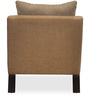 Chevy One Seater Sofa in Brown Colour by @ Home