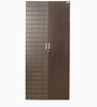 Chocolate Two Door Wardrobe in Brown Colour by Godrej Interio