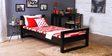 Asilo Single Bed in Espresso Walnut Finish by Woodsworth