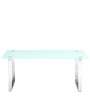 Cinnabar Center Table in Clear  colour by @home