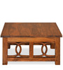 Citrine Coffee Table in Walnut Colour by @home