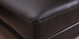 Clarke Gold LHS Sectional Sofa in Black Colour by Furny