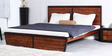 Trenton King Bed in Dual Tone Finish by Woodsworth