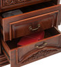 Clara Bedside Table in Red Colour by Durian