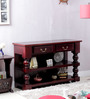 Egerton Console Table in Passion Mahogany Finish by Amberville