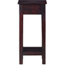 Lehnart End Table in Passion Mahogany Finish by Amberville