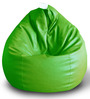 Classic Bean Bag (Cover Only) XXL size in Green Colour by Style Homez