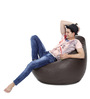 Classic Bean Bag (Cover Only) XXXL size in Chocolate Brown Colour  by Style Homez