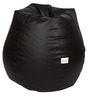 Classic Bean Bag Cover without Beans in Brown Colour by Sattva