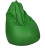 Classic Bean Bag Cover without Beans in Neon Green Colour by Sattva