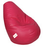 Classic Bean Bag Cover without Beans in Pink Colour by Sattva