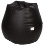 Classic Bean Bag with Beans in Brown Colour by Sattva