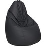 Classic Bean Bag with Beans in Grey Colour by Sattva