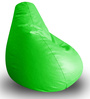 Classic Bean Bag XXL size in Green Colour with Beans by Style Homez
