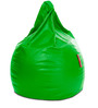 Classic Bean Bag XXXL size in Parrot Green Colour with Beans by Style Homez