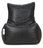Classic Bean Chair XXL Filled with Beans in Black Colour by Can