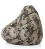 Classic Cotton Canvas Camouflage Design Bean Bag XXL Size Cover Only by Style Homez