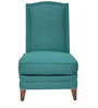 Classic Slipper Chair with a High Back Style